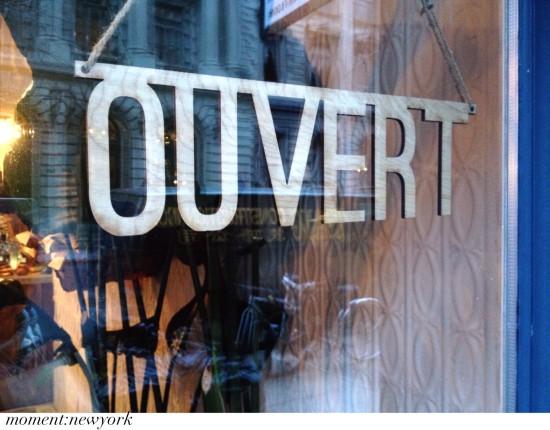 Geöffnet! Café Mamam in Soho