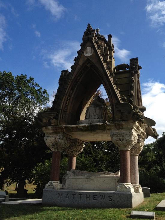 Das Grab von John Matthews