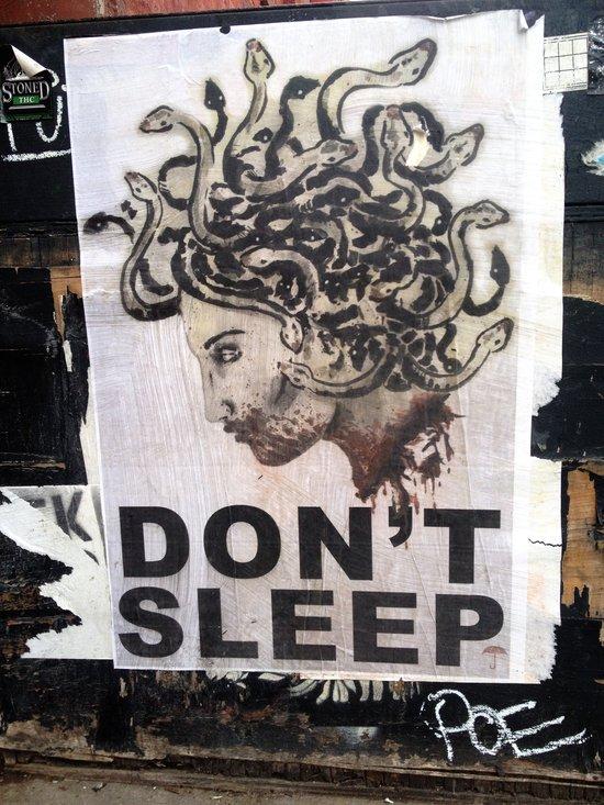 Nicht schlafen!