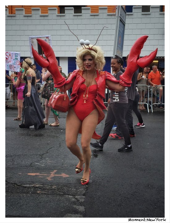 Kindra Meyer bei der Mermaid Parade 2015