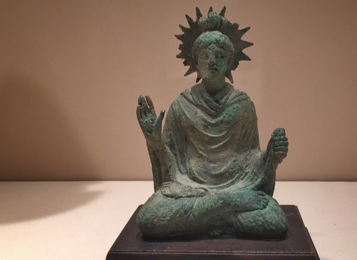 Buddha oder Freiheitsstatue?