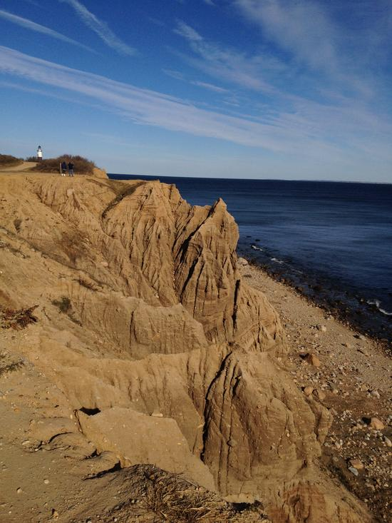 Montauk Bluffs - Steilfelsen auf Long Island, New York