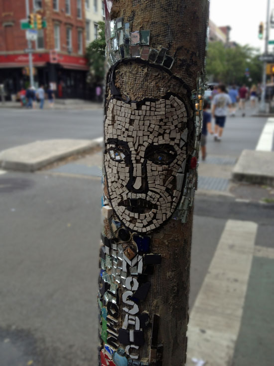 Mosaik im East Village
