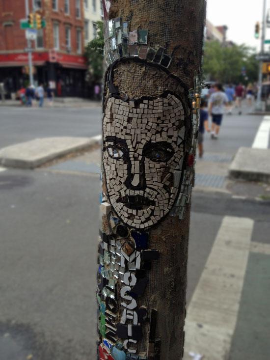 Mosaik im East Village