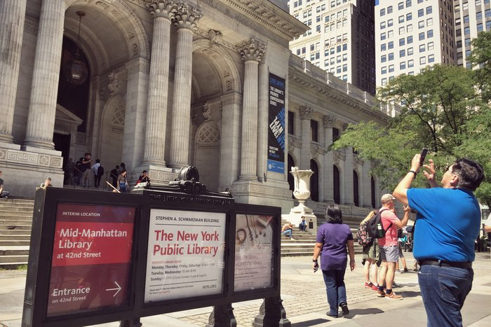 New York Public Library 42nd Street Fifth Avenue