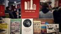 "New York Books including ""Treat Yo'Self in the City"" by Jessica T. Bowen"