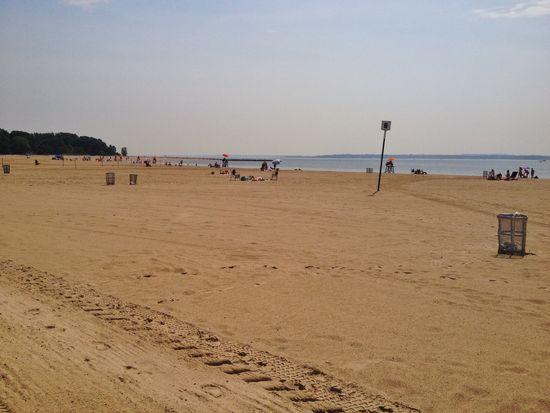 Orchard Beach - Riviera von New York