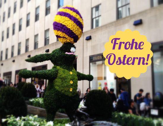 Frohe Ostern vom Rockefeller Center