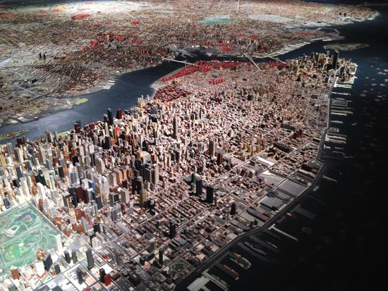 Manhattan im Panorama, Queens Museum