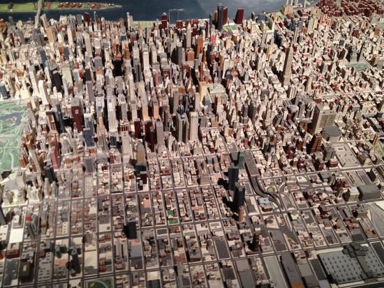 Empire State Building im Manhattan Panorama