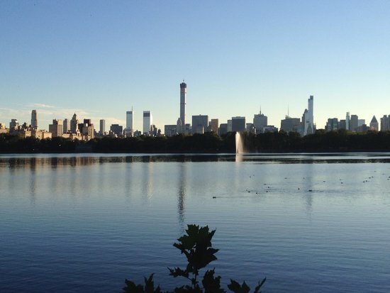 432 Park Avenue vom Central Park aus