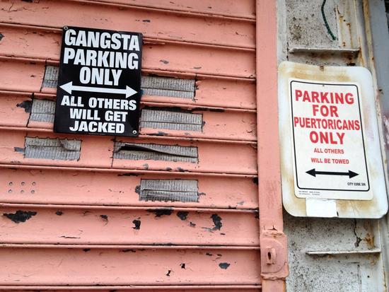 Parken nur für diese oder jene