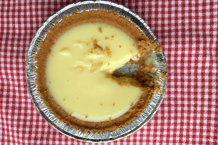 Pi Day Key Lime Pie