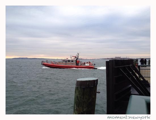 Feuerwehrboot in New York
