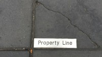 Property Line in New York