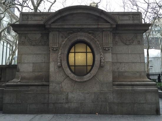 Öffentliches Klo in New York