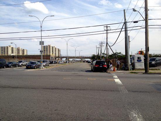 Straße in Rockaway