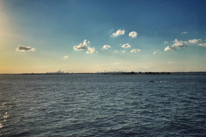 Rockaway Ferry NYC Skyline