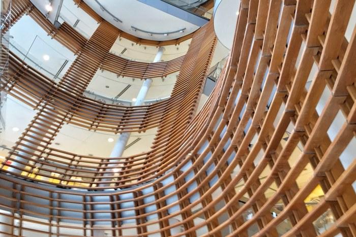 Rockefeller University Treppenhaus