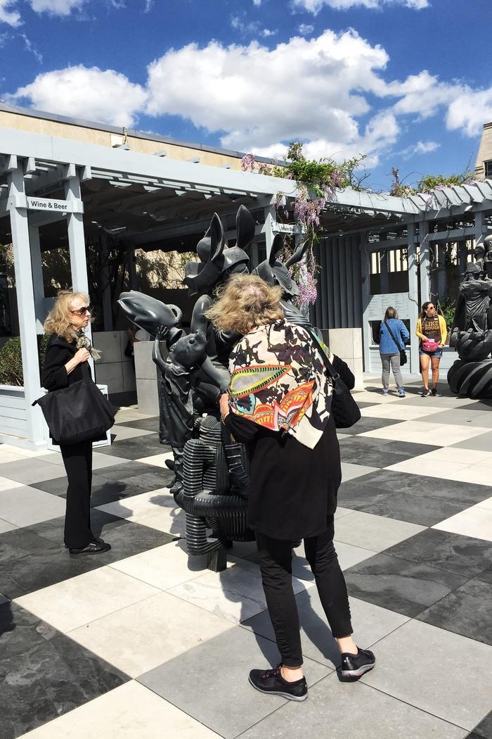 Met Museum Roof Garden Ausstellung 2017