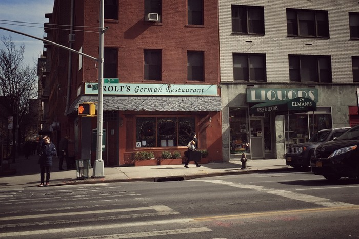 Rolf's German Restaurant in New York