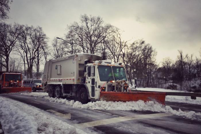 Schneepflug Central Park