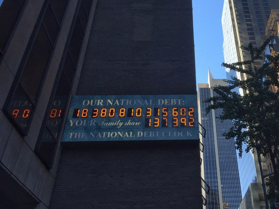 US-Schulden 6. Oktober 2015