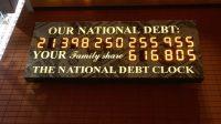 Schuldenuhr USA März 2019