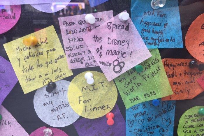 Silvester Wish Konfetti Times Square