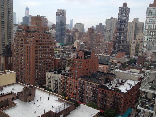 Sommerwetter New York: schwül!