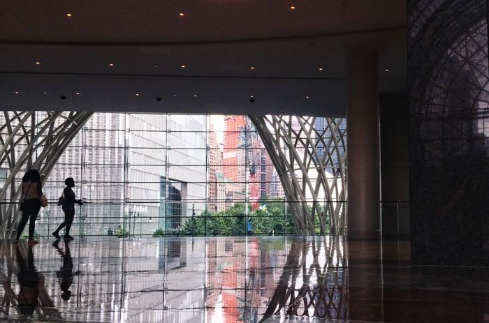 Blickfang Spiegelung Brookfield Place