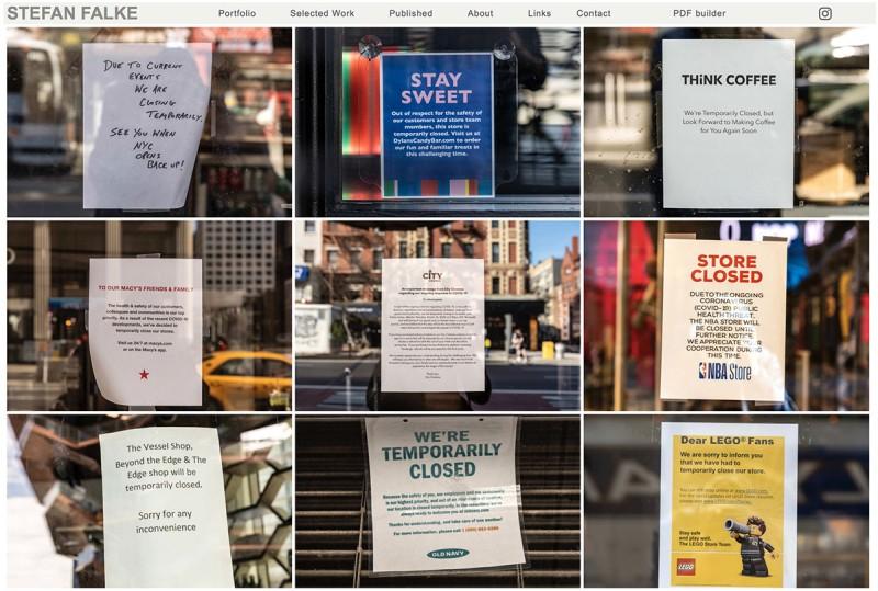 Stefan Falke Signs of a Crisis NYC