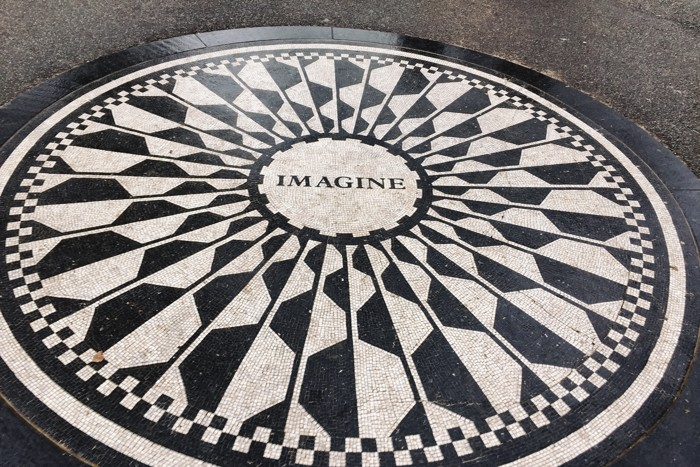 Strawberry Fields Imagine Mosaic