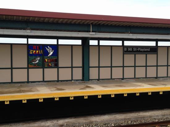 U-Bahn-Kunst in Rockaway
