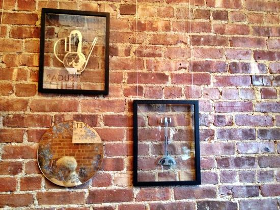Blattgold von Sandra Spannan auf dem Sugar Hill Market