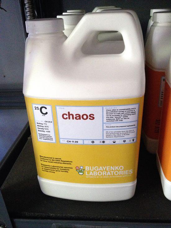 Chaos zum Kaufen