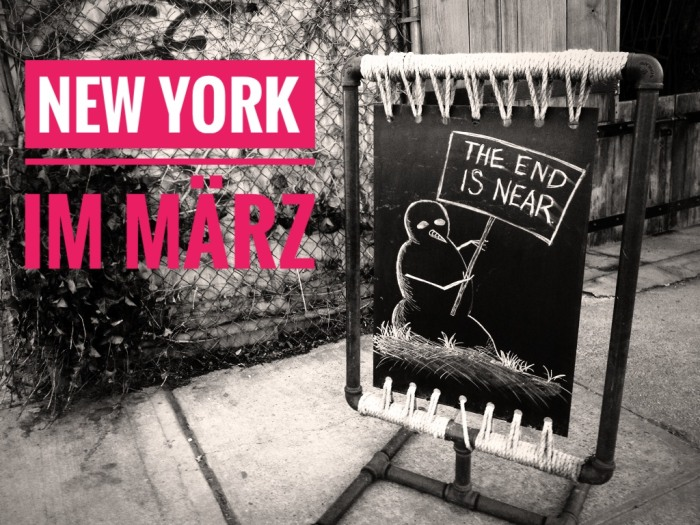 New York März 2017
