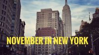 New York im November