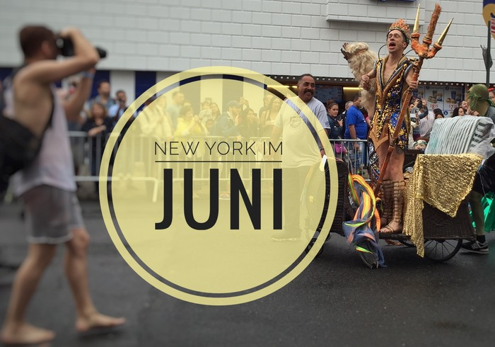 New York im Juni