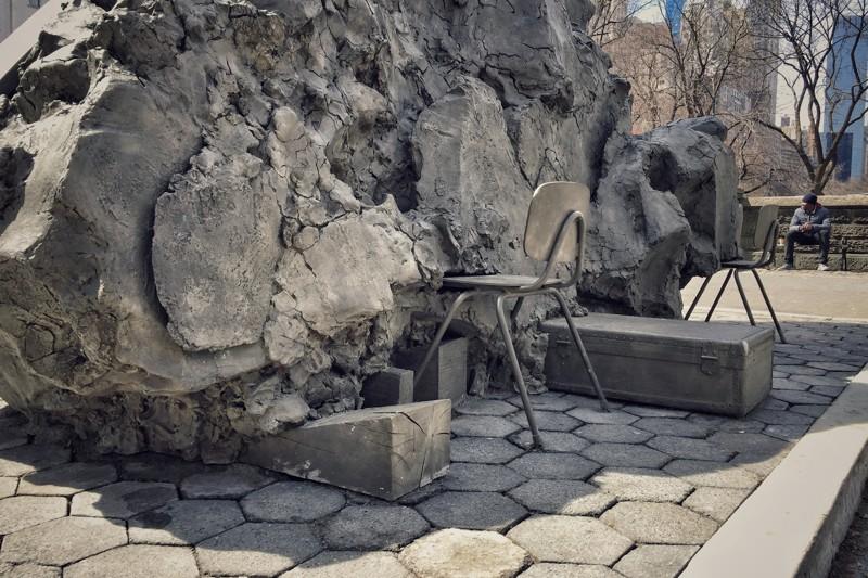 Tilted Head Kunst Central Park