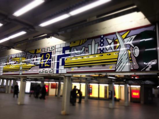 Roy Lichtenstein Times Square
