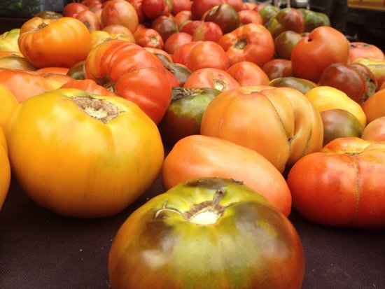 Heirloom Tomatoes in New York