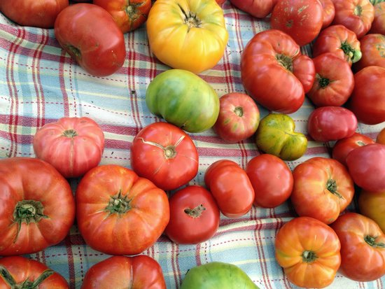 Heirloom Tomatoes Auswahl