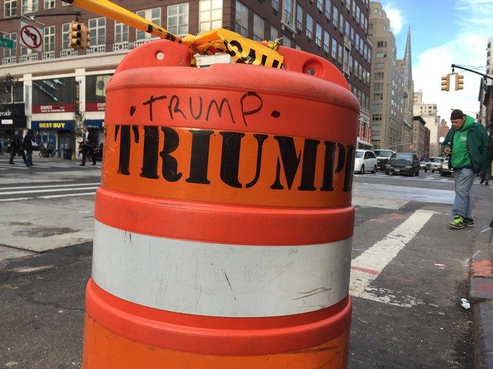 New York nach der Wahl: Trump Triumph