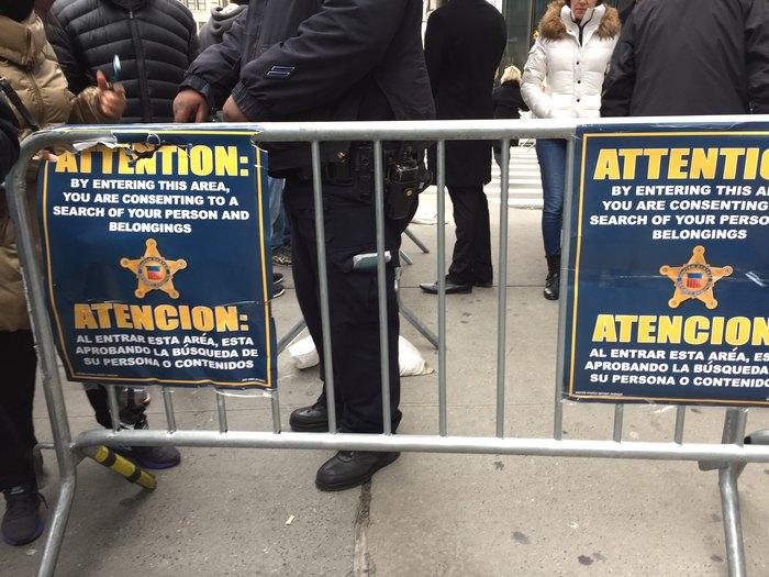 Sicherheitskontrollen nach der Trump-Wahl