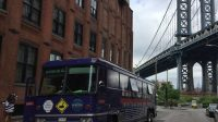 Trump Bus in Dumbo