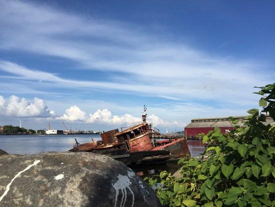 Tugboat Schlepper Wrack