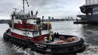 Regatta der New Yorker Hafenschlepper