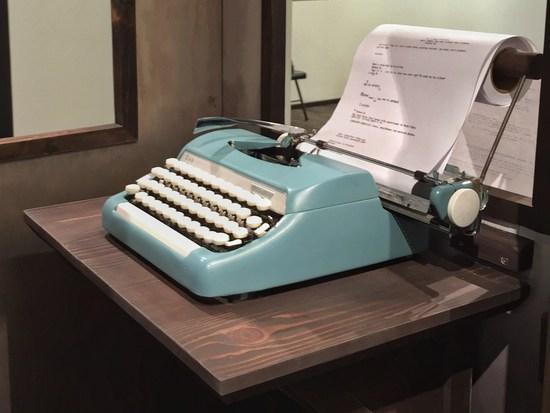 Schreibmaschine mit USB-Technik