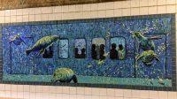 U-Bahn-Kunst Seehunde